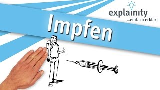 Impfen einfach erklärt (explainity® Erklärvideo)