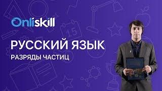 Русский язык 7 класс : Разряды частиц