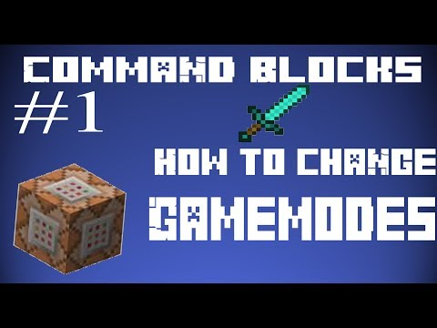 Minecraft How To Change Gamemode In Command Blocks