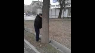 Писающая достопримечательность Бишкека