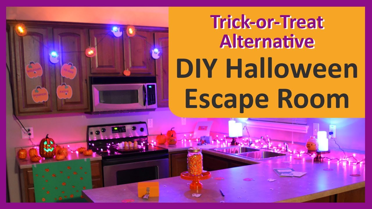 How To Create A Halloween Escape Room For The Best Halloween Party Game A Trick Or Treat Alternative Youtube