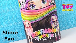 Rainbow Surprise by Poopsie DIY Slime Fashion Doll Unboxing Review | PSToyReviews