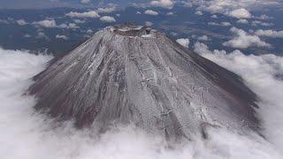 富士山が初冠雪   昨年より24日早く