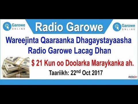 Radio Garowe oo $21 kun ku wareejisay Guddiga Gurmadka Muqdisho