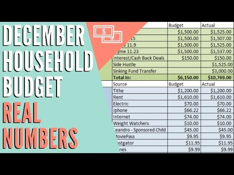 december-2018-zero-based-household-budget-|-real-numbers-|-dumping-debt-fridays