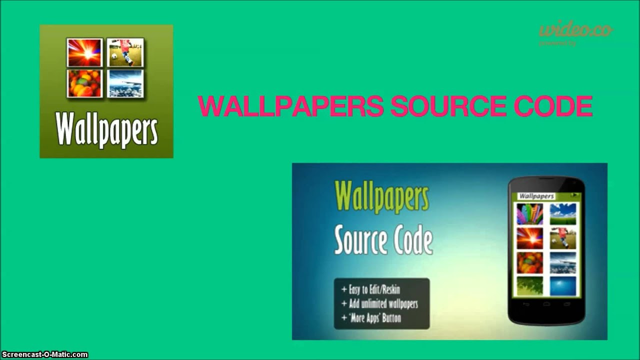 Android Wallpaper App Source Code