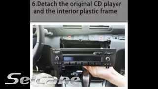 Guía de actualización para BMW 1 Series 120i E87 E81 E82 E88 Reproductor DVD Coche Radio GPS CD
