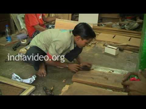Carpenters, Furniture shops, Kolkata, India