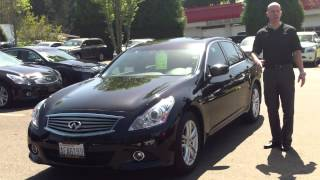 2011 Infiniti G25 review - In 3 minutes you'll be an expert on the Infiniti G25