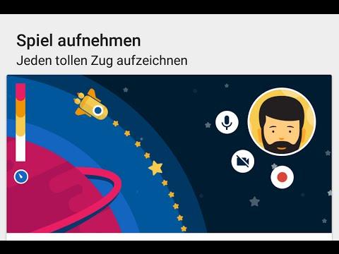 Aufnehmen mit Google Play Games