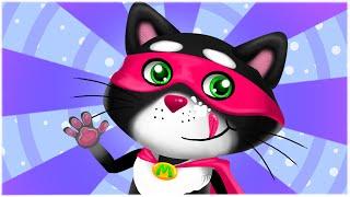 Мурчик Супер Кіт - Дитячі Пісні й Мультики Українською Мовою - З Любовю до Дітей