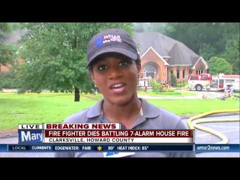 Firefighter dies battling massive house fire in Clarksville