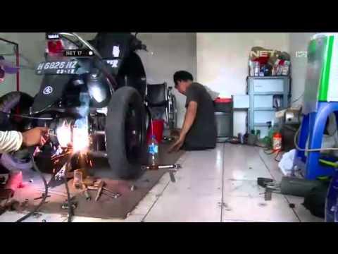 modifikasi mio roda 3  paling bagus