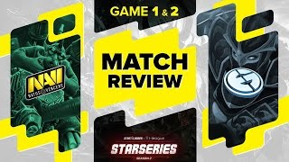 MATCH REVIEW: Na`Vi vs EG - Game 1 & 2 @ SL i-League StarSeries S2 LAN