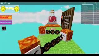 Roblox-ozok egy minecraft obbyval