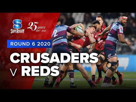 Super Rugby 2020 | Crusaders v Reds - Rd 6 Highlights