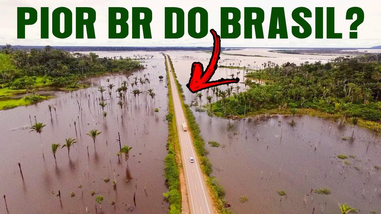 BR-364 de RIO BRANCO a PORTO VELHO de KOMBI