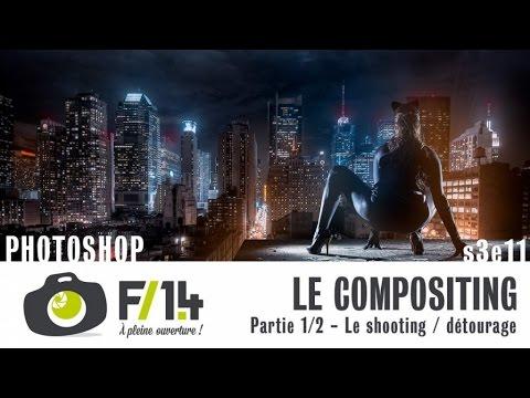 Le Compositing (1/2) - Shooting et détourage - PHOTOSHOP - S03E11 - F/1.4