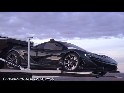 McLaren P1 LM Loading Into a Truck at the Nurburgring!
