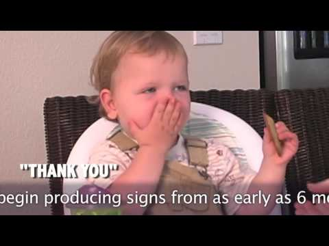 Baby Sign Language Basics in Action-- Real Signing Babies!