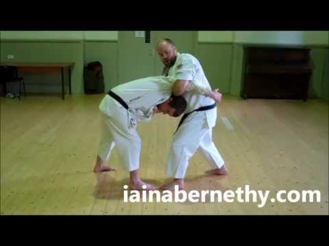 Practical Kata Bunkai: First Half of Pinan / Heian Yodan Bunkai Drill