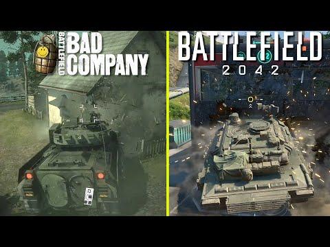 The Evolution of Frostbite Engine 2008 - 2021.  Destruction in Battlefield Series.