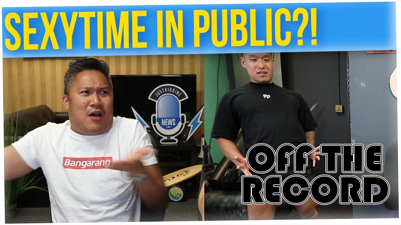 Off The Record: Dante's First Male Kiss (ft. Dante Basco & Anthony Lee)