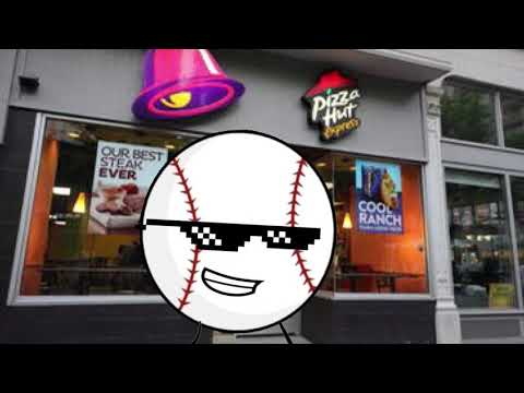 I'm at the combination of Pizza Hut and taco bel,l