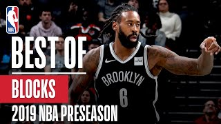 BEST BLOCKS From 2019 NBA Preseason