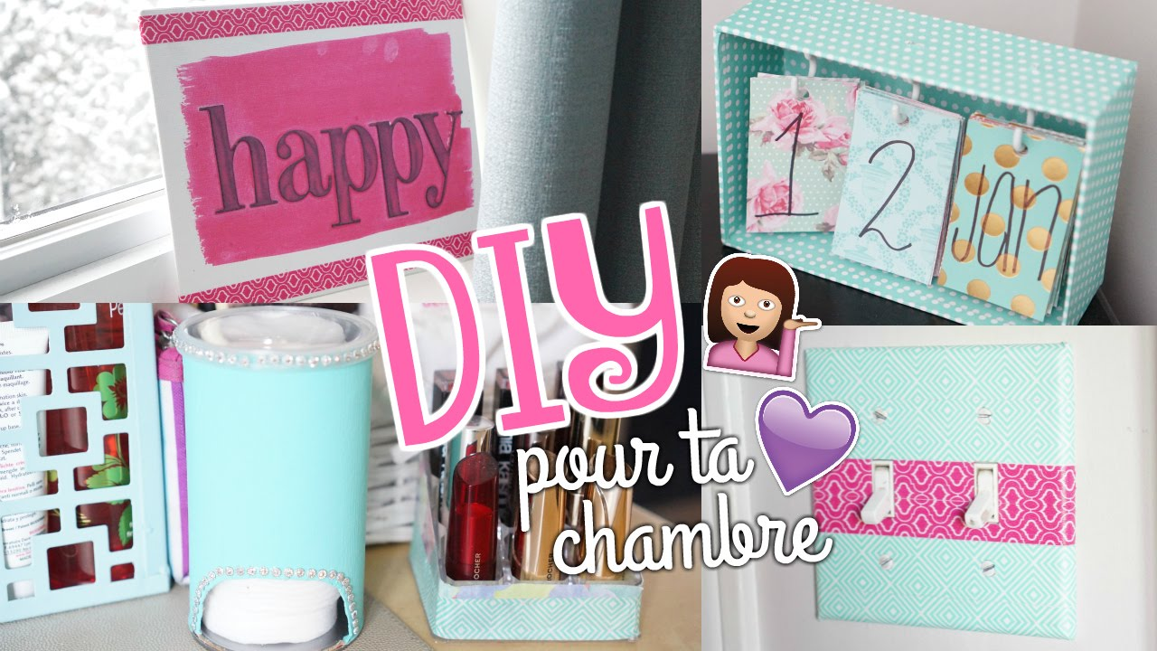 Diy pour ta chambre facile cute youtube for Photo comment ideas