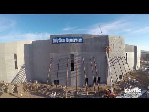 Odysea Aquarium with Suntec Concrete