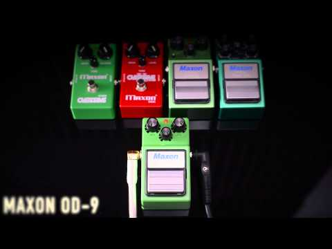 OD-9 Overdrive Effects Pedal