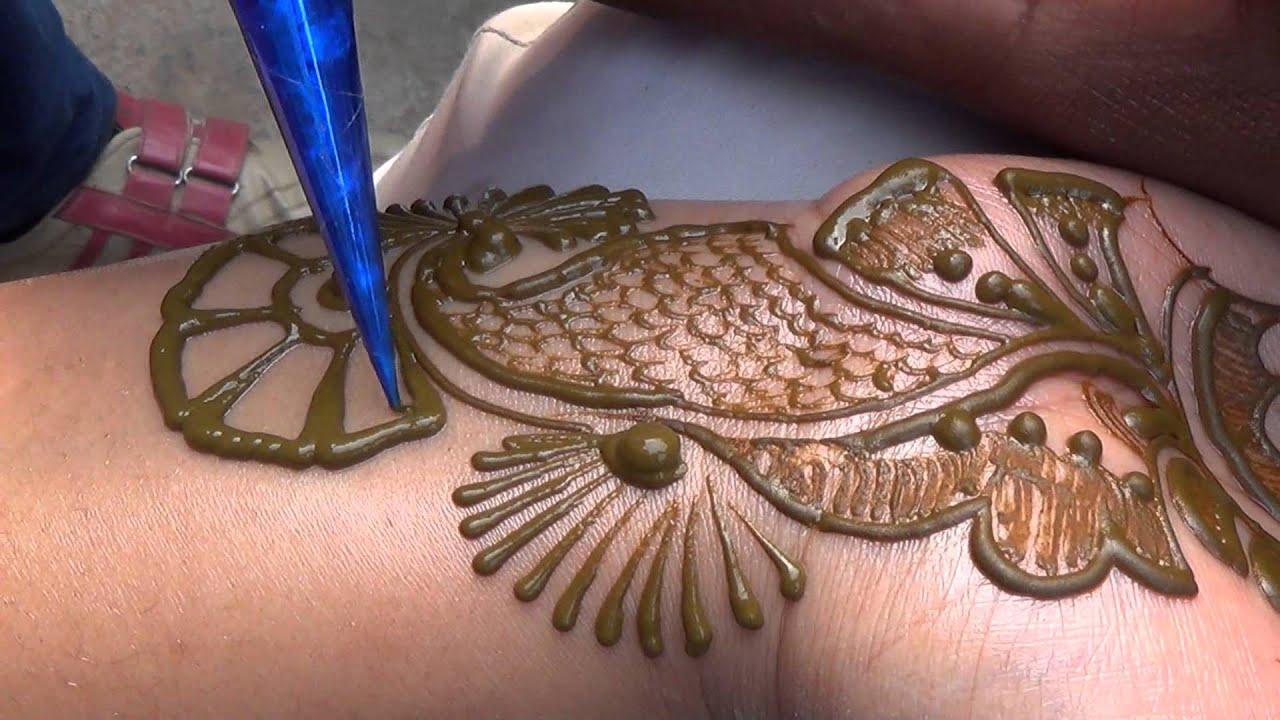 Mehndi Tattoo Hd : Indo arabic full hand bel henna mehendi design:new bridal mehndi