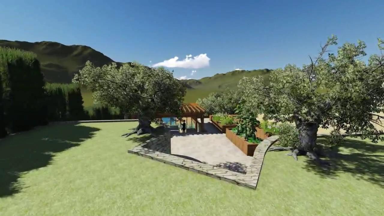 Projet d 39 un jardin en restanque l 39 pouvantail jardin - Dessiner un jardin ...