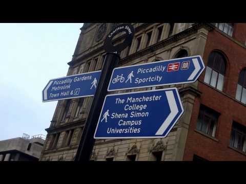 Directions From Manchester Piccadilly Train Station To Manchester Bus & Coach Station