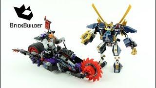 Lego Ninjago 70642 Killow vs. Samurai X  - Lego Speed build