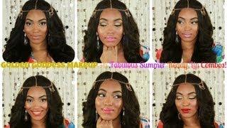 Tutorial | Golden Goddess Makeup +6 Fab Summer Ready Lip Combos!