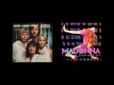 Madonna (Hung Up) Samples Abba (Gimme! Gimme! Gimme!)