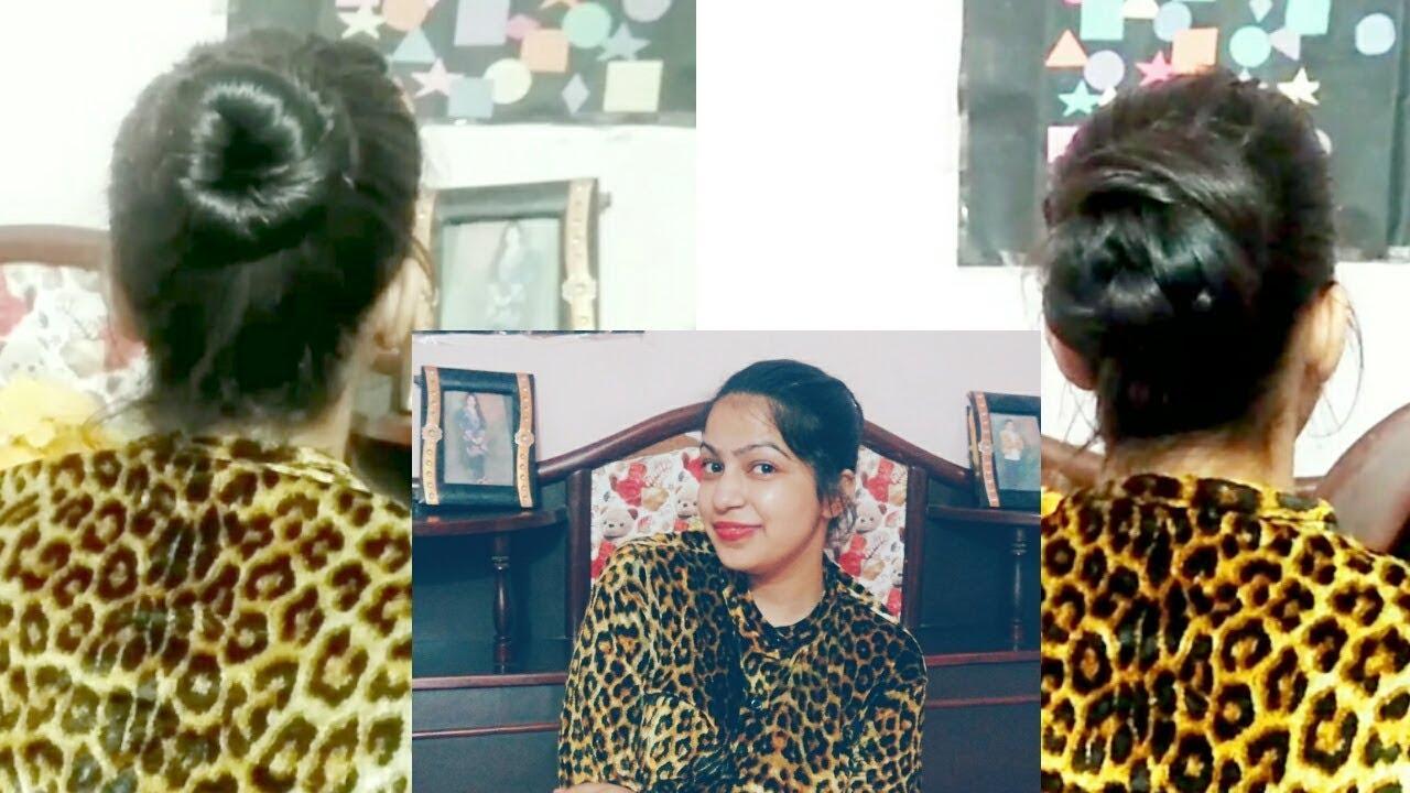 simple juda in hindi    सिंपल जूड़ा बनाने का तरीका