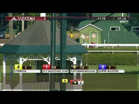 Literata - 2017 Saratoga Dew Stakes