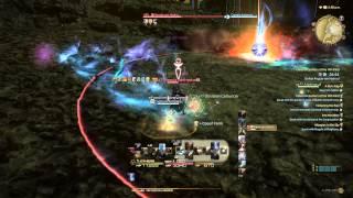 Final Fantasy XIV - Regula van Hydrus Battle (MNK)