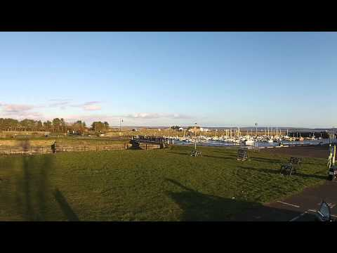 Burry Port Harbour captured by Drone Cam