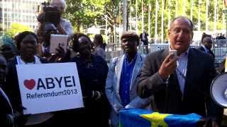 Abyei Referendum Rally - Professor David L. Phillips