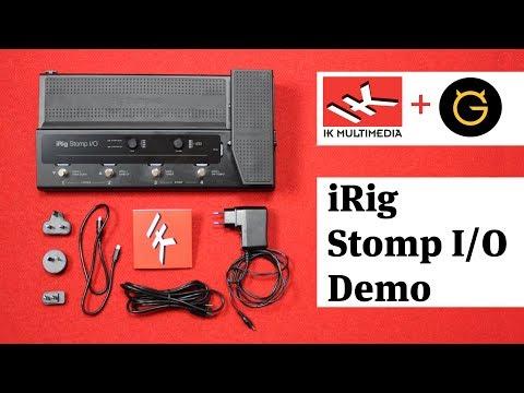 iRig Stomp I/O Demo. IK Multimedia & Ultimate Guitar