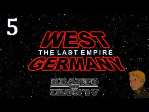 HoI4 - Cold War The Iron Curtain - West Germany - The Last Empire - Part 5