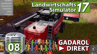 LS17 | [DIREKT] Anmoderation aber wie?  ► #8 ► Landwirtschafts Simulator 17 deutsch german