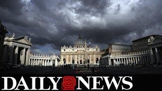 Vatican cops raid drug fueled gay orgy at top priest's apartment