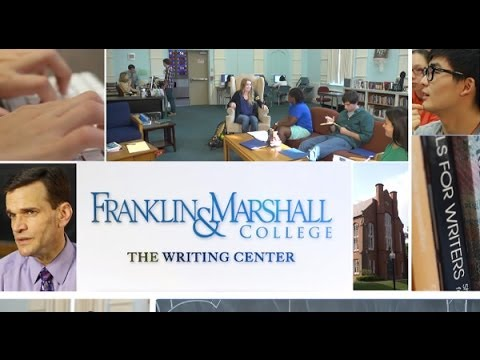The Writing Center at Franklin & Marshall College