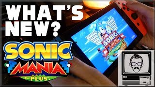 Sonic Mania Plus Review & Differences | Nostalgia Nerd