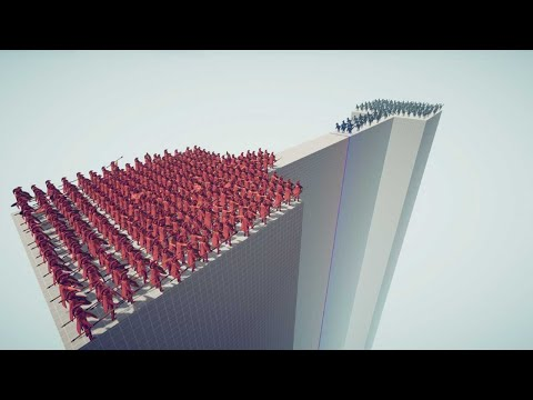 Can 300 Spartans defend the Bridge? Map Test TABS Update Totally Accurate Battle Simulator